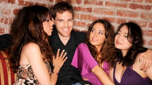 player with women